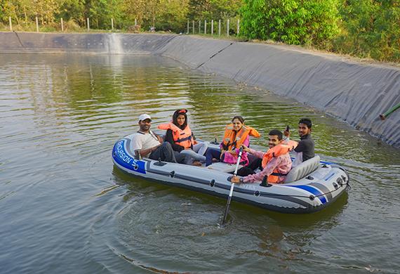 Boating-Rudraksha